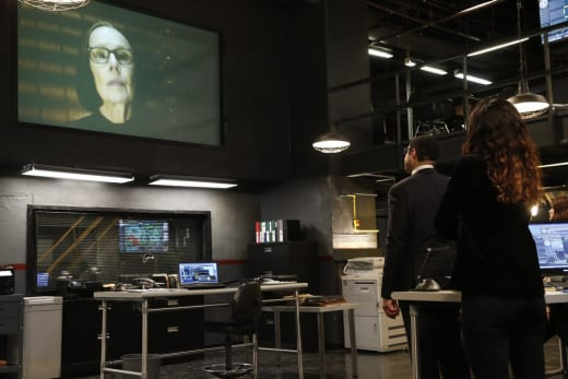 Mr. Kaplan video chats with the team - The Blacklist Season 4 Episode 20