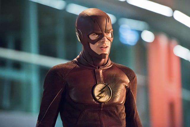 The Flash Looks Annoyed Season 2 Episode 6