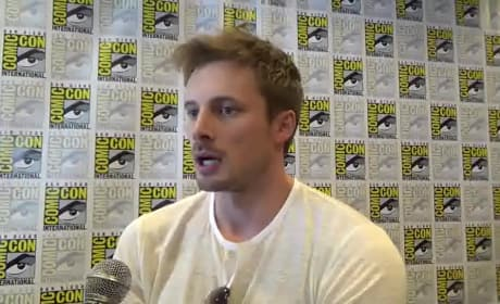 Bradley James Talks Damien
