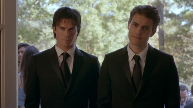 Damon & Stefan -- The Vampire Diaries