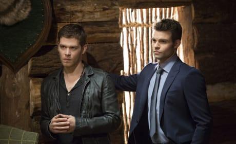 Klaus and Elijah Listen - The Originals Season 2 Episode 11