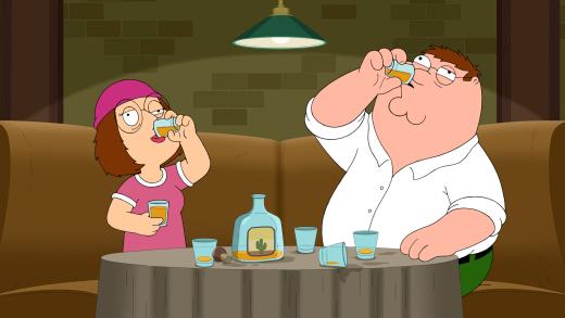 Meg Starts Drinking - Family Guy
