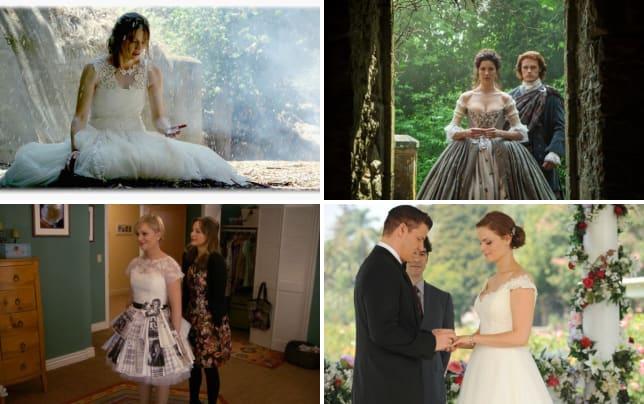 The wet wedding gown castle s7e1