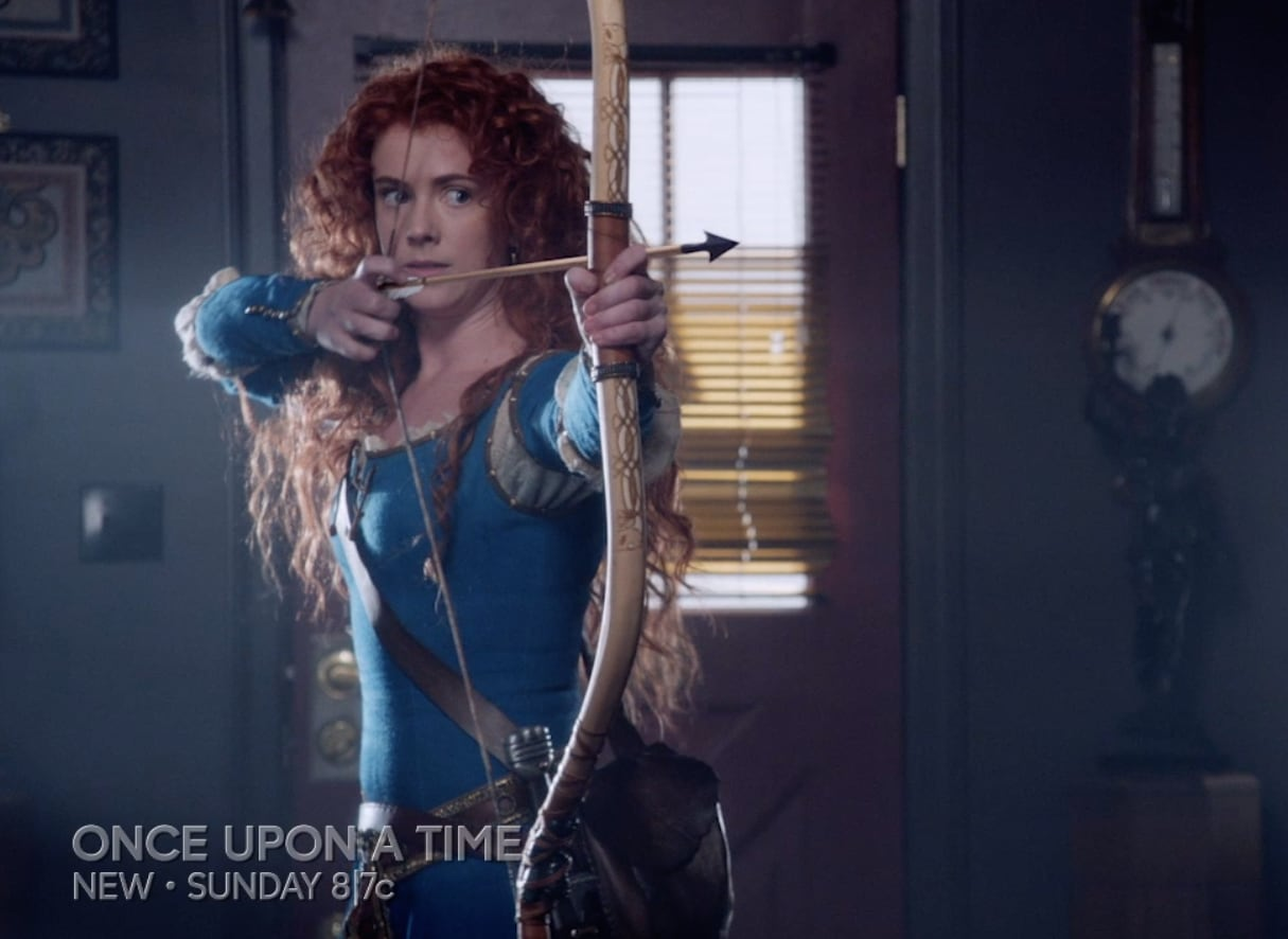 Amy Manson Once Upon A Time ready and aim and - once upon a time season 5 episode 6