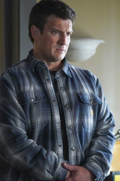 Officer Nolan's Plaid Shirts - The Rookie Season 1 Episode 17