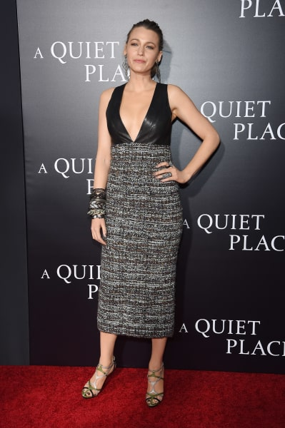 Blake Lively Attends A Quiet Place Premiere