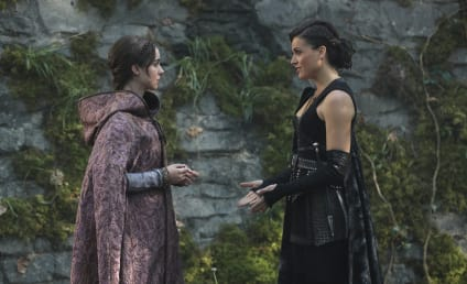 Once Upon a Time Photos: Are Regina and Drizella Friends?!