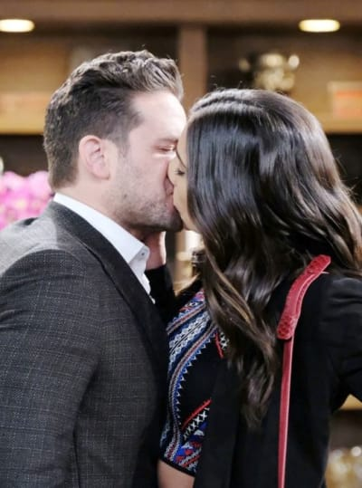 Kissing the Enemy - Days of Our Lives