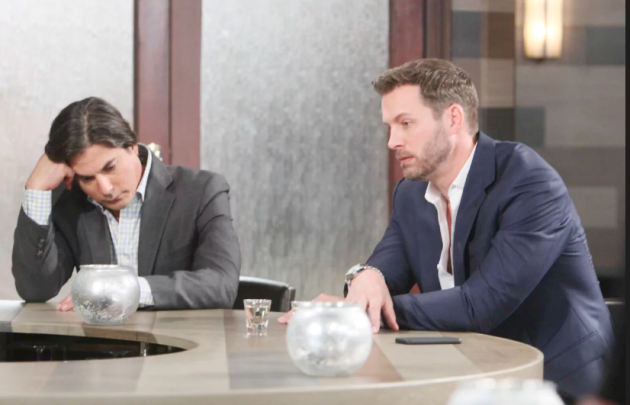 Lucas and Brady Fall Off the Wagon - Days of Our Lives