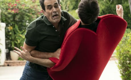 Phil Tackles Dylan - Modern Family Season 10 Episode 4