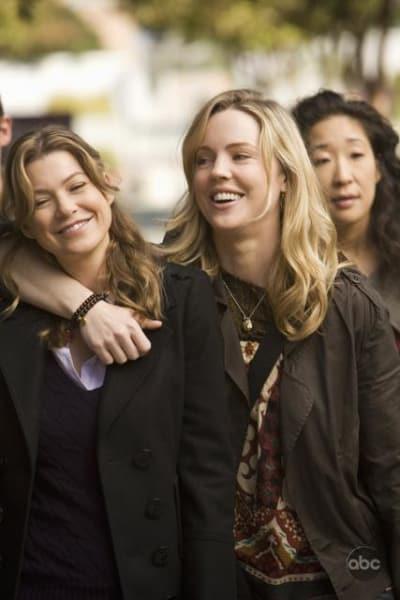Meredith Grey and Sadie