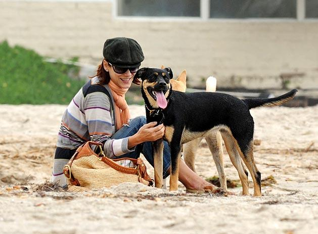 Kate Walsh and Pup