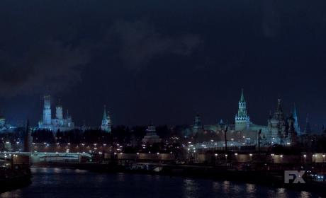 Moscow at Night - The Americans