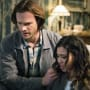 Sam and Alicia look down - Supernatural Season 12 Episode 20