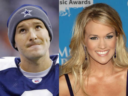 Carrie Underwood And Tony Romo