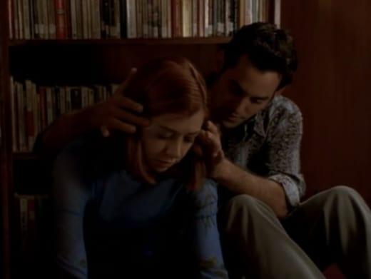 Library Flirtation - Buffy the Vampire Slayer Season 3 Episode 7