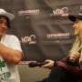 Bob Morley and Eliza Taylor at Conageddon 2019 - The 100