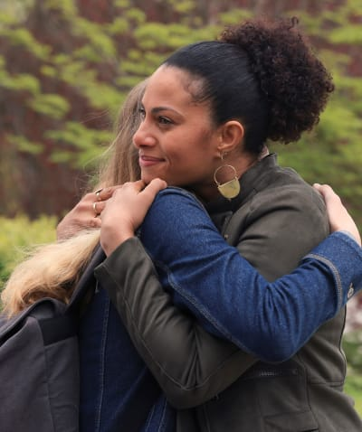 Hugging Aunt Gina - tall - A Million Little Things Season 3 Episode 17