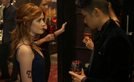 Over Drinks - Shadowhunters Season 2 Episode 8