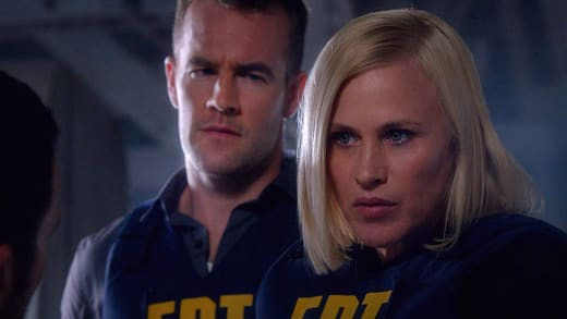 Patricia Arquette and James Van Der Beek - CSI: Cyber