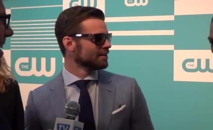 Daniel Gillies Wears Sunglasses, Reacts to Originals Finale