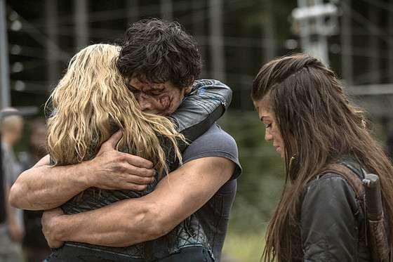 Bellamy and Clarke - The 100 Seaosn 2 Episode 5