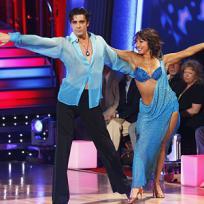 Cheryl Burke and Gilles Marini Photo