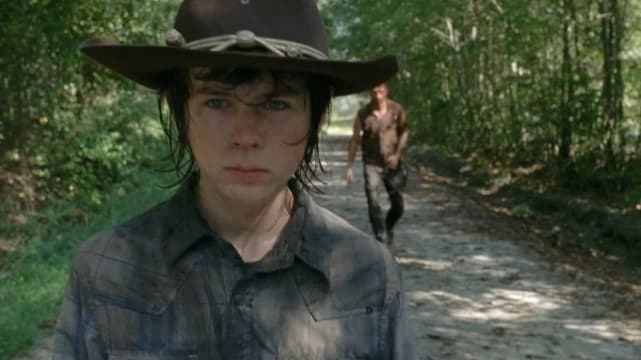 Carl Walks the Road