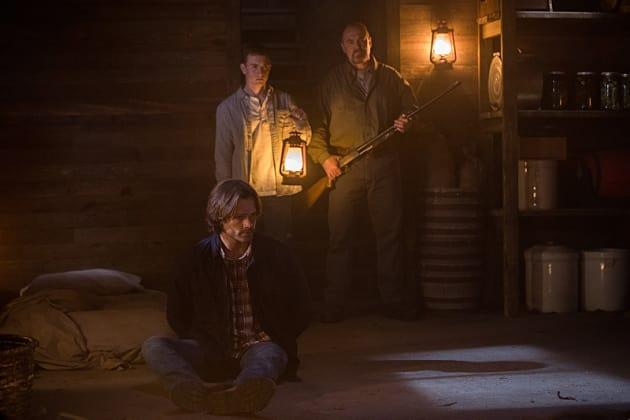Hovering over Sam - Supernatural Season 12 Episode 4