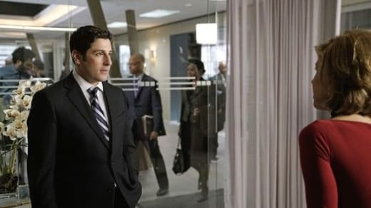Jason Biggs as Dylan Stack - The Good Fight Season 1 Episode 10