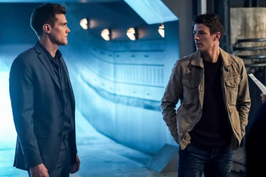 Ralph and Barry Talk It Out - The Flash Season 5 Episode 11
