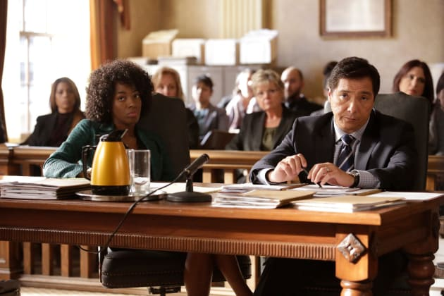 Not Amused - How to Get Away with Murder Season 3 Episode 12