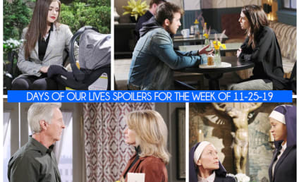 Days of Our Lives Spoilers Week of 11-25-19: An Explosive Reveal