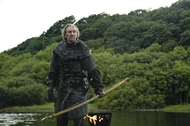 """Clive Russell as Brynden """"The Blackfish"""" Tully"""