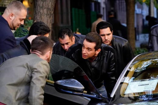 Victor Lugo Shows Off - Blue Bloods Season 8 Episode 10