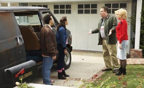 The Black Van - The Goldbergs