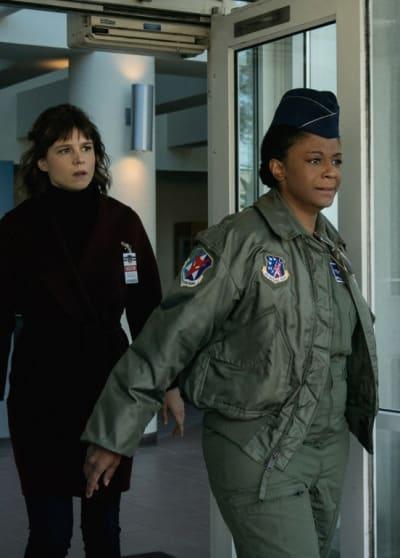 Cassie the Air Force Pilot - EVIL Season 2 Episode 9