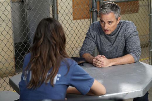 Callie's visitor - Cruel and Unusual - The Fosters Season 4 Episode 13