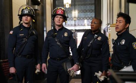 Elevator Crash - 9-1-1 Season 1 Episode 9