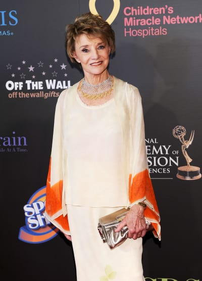 Peggy McCay Attends Daytime Emmys