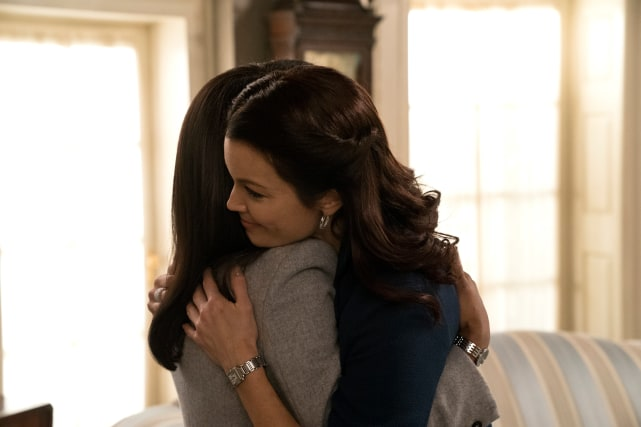Are Olivia and Mellie Friends? - Scandal Season 7 Episode 12