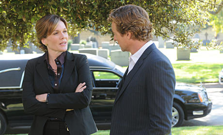 Catherine Dent on The Mentalist