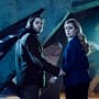 Aaron Stanford and Amanda Schull - 12 Monkeys Season 1 Episode 1