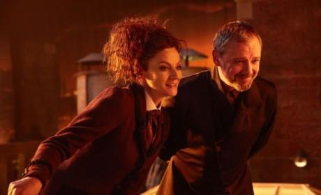 Missy and the Master - Doctor Who Season 10 Episode 13