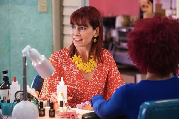Polly in Action - Claws Season 2 Episode 2