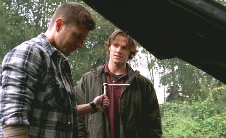 Dean Lets Sam Drive Baby - Supernatural