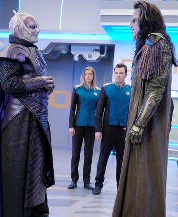 Confrontation - The Orville Season 1 Episode 9