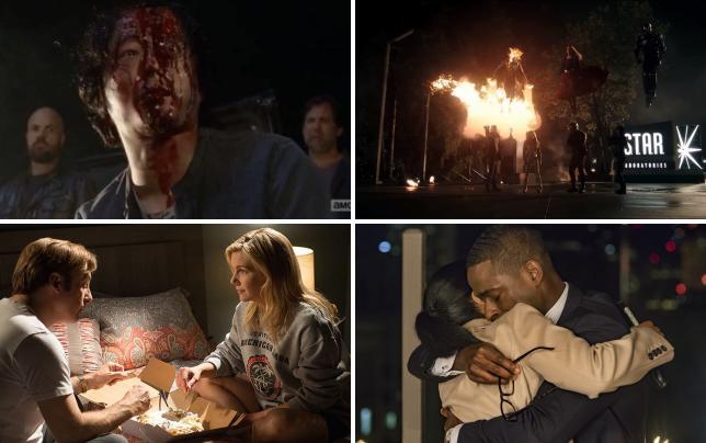 The walking dead negan kills season premiere scene