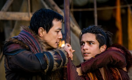 At Pilgrim's Fortress - Into the Badlands