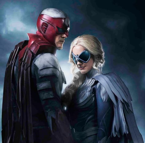 Hawk and Dove on Titans